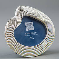 Фоторамка настольная Lefard Ракушка 9х9 см 144C рамка для фото
