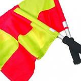 Прапорець лайнсмена аматорський Select Lineman's Flag Classic, 2 прапора, жовто-червоний, фото 2