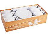 Чайный набор Cup and Saucer на 12 предметов 359-346 набор для чая сервиз, фото 2