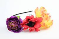 Обруч для волос с цветами Obodok 2252