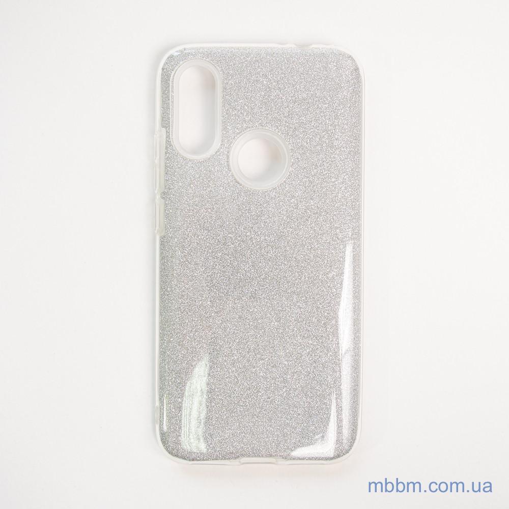 Чехол TPU Shine Xiaomi Redmi 7 silver