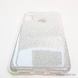 Чехол TPU Shine Xiaomi Redmi 7 silver, фото 5
