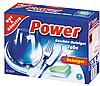 Таблетки для посудомоечных машин G&G Power  60 шт