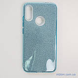 Чехол TPU Shine Xiaomi Redmi Note 7 light blue, фото 2