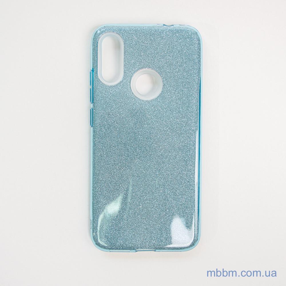 Чехол TPU Shine Xiaomi Redmi Note 7 light blue