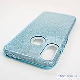 Чехол TPU Shine Xiaomi Redmi Note 7 light blue, фото 4