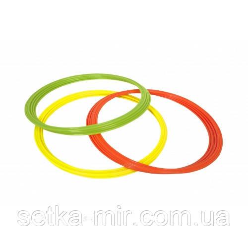 Кільця для координації SELECT COORDINATION RINGS (341) жовтий/зел/оранж, 12 шт