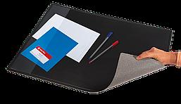 Подложка на стол Panta Plast PVC чёрная с карманом 500 х 650 мм
