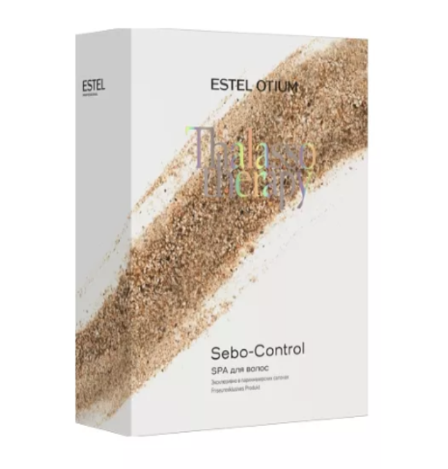 Набір для процедури Estel Otium Thalasso Sebo-Control шампунь +  маска-глина