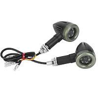 Светодиодные повороты мото \ Указатели поворота + стоп  12В LED 2 Вт