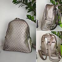 Подростковый мини-рюкзак с заклепками для девочки 33*24*12 см