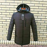 Мужская зимняя куртка теплая производства Украина