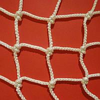 Сетка оградительная капроновая D 3,5 мм. Ячейка 10 см. заградительная, для спортзалов, стадионов.