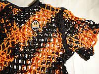 Футболка для болельщиков Шахтёра 48-50 размер плетёная, фото 1