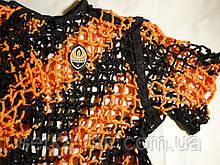 Футболка для вболівальників Шахтаря 48-50 розмір плетена