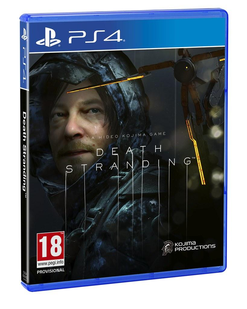 Death Stranding BluRay диск для PS4, PS5