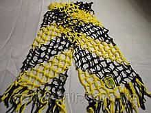 Футбольний шарф футбольного вболівальника Буковини плетений