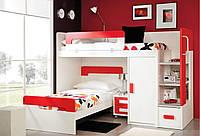 Дитяче ліжко горище Дм 503 А, фото 1