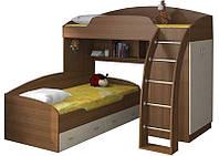 """Детская двухъярусная кровать чердак дм132 """"Базель"""", фото 1"""
