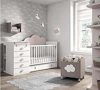 Детская комбо-кровать для новорожденных ДМ 510