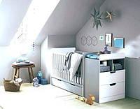 Детская комбо-кровать для новорожденных ДМ 503