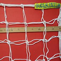 Сетка для футбола повышенной прочности «ЭКСКЛЮЗИВ 1,5» белая (комплект из 2 шт.), фото 1