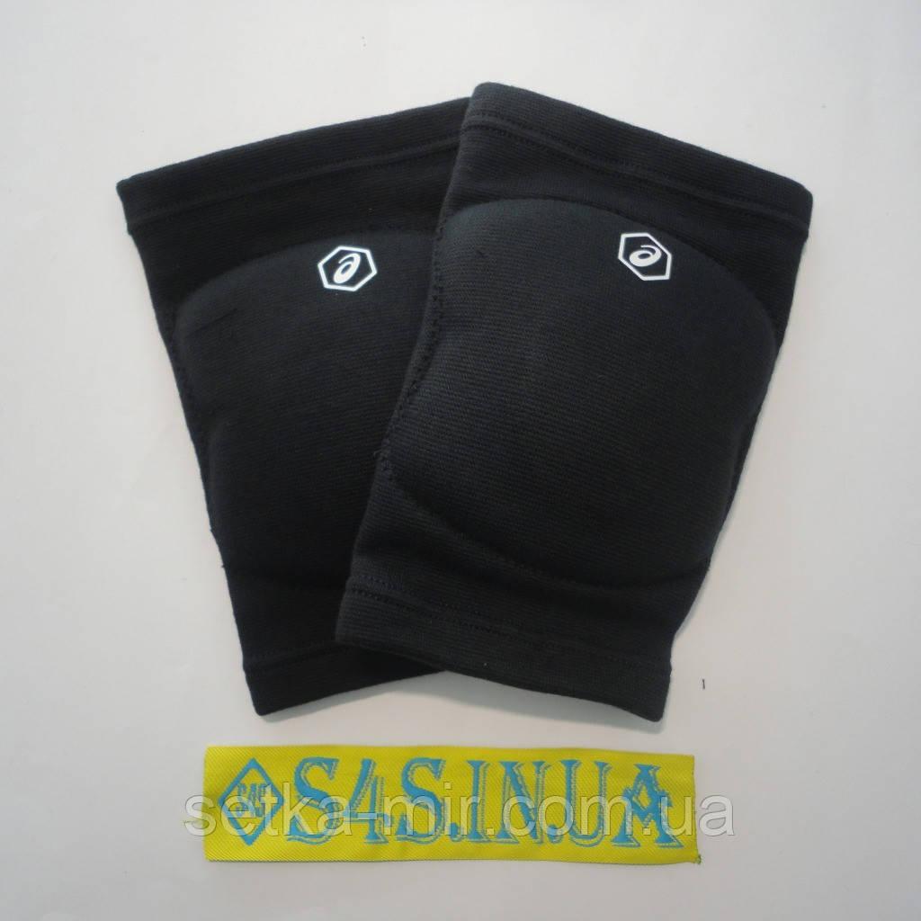 Волейбольные наколенники Asics Gel Kneepad, размер S, чёрные