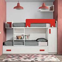 Дитяче ліжко горище ДМ 268