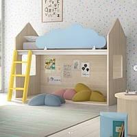 Дитяча одноярусна ліжко ІНСТРУ 55