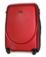 Чемодан Fly 310 большой 75х47х29 см 90л пластиковый на 4 колесах Красный