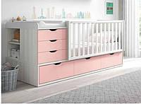 Детская комбо-кровать для новорожденных ДМ 504 А, фото 1