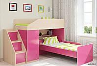 Детская кровать-чердак Дет 25, фото 1