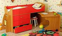 Детская кровать-чердак ДМО 38, фото 1