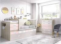 Дитяче ліжечко для новонародженого з маятником ДМ 4114, фото 1
