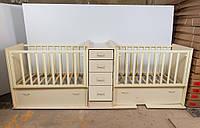 Детская кроватка для близнецов ДМ-048, фото 1