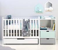 Детская комбо-кровать для новорожденных ДМ 514, фото 1