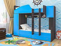 """Детская двухъярусная кровать чердак дм131 """" Аликантэ"""", фото 1"""