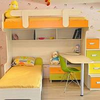 Детская кровать чердак ДМ 267