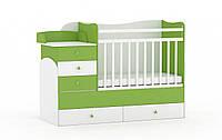 Детская кроватка для младенца ДМ-025, фото 1
