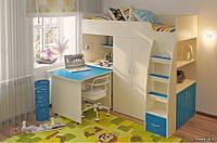 Детская кровать-чердак, Дет51, фото 1