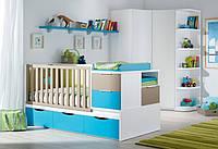 Детская комбо-кровать для новорожденных ДМ 507, фото 1
