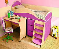 Детская кровать чердак ДМО 05