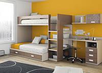 Детская кровать для двоих ДМ 711, фото 1