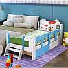 Дитяча одноярусна ліжко ІНСТРУ 61