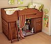 Дитяча одноярусна ліжко ІНСТРУ 58