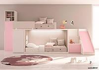 Детская двухъярусная кровать чердак ДКД 155, фото 1