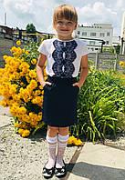 Блуза Кружево белая