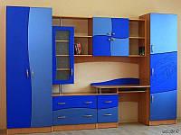 Стенка в детскую комнату СТК21