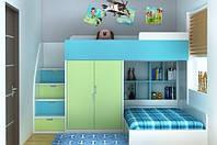 Детская кровать для двоих ДМ 719, фото 1