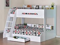 Дитяче ліжко для двох ДМ 716